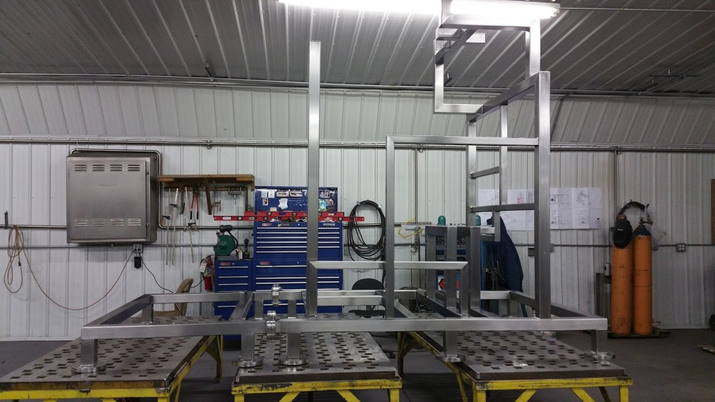 Fabrication - CIP Frame